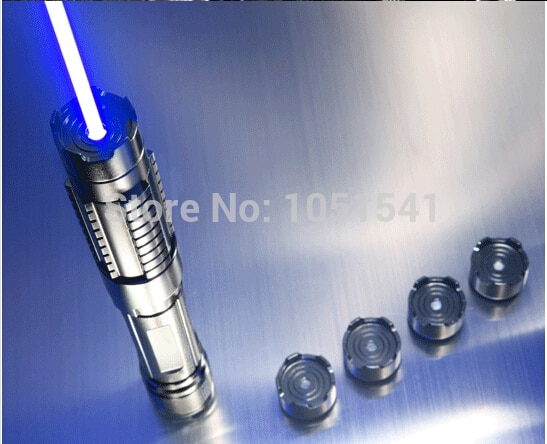 HOT High Power 5000000m Blue Laser Pointers 450nm Lazer Flashlight Burning